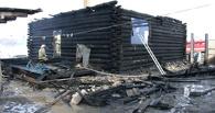 В Омской области на пожаре погиб пенсионер