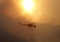 В США более двух тысяч семей эвакуировали из-за лесных пожаров