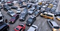 Пробки в Омске сегодня достигли 8 баллов