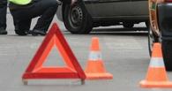 Напротив мэрии Омска столкнулись три автомобиля