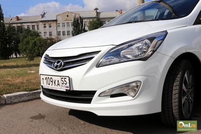 Тест-драйв Hyundai Solaris: что появилось в народном авто после обновления-2014