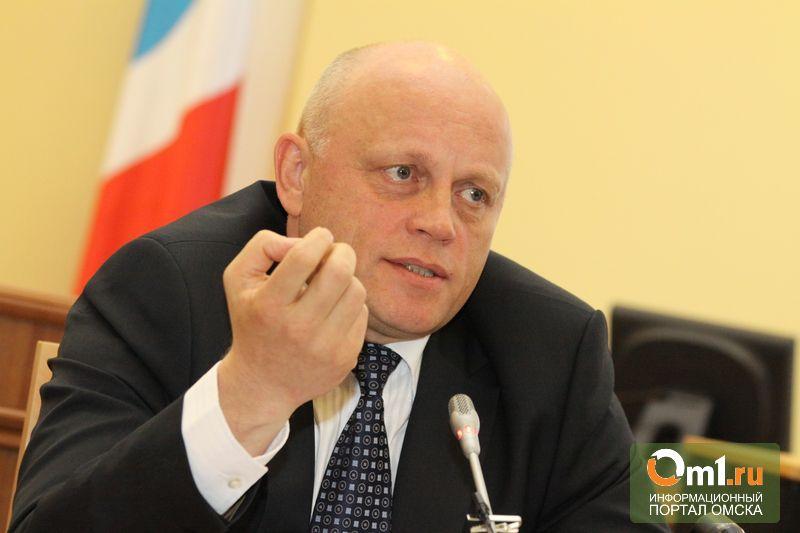 """Омский губернатор назвал """"бредом"""" новость об объединении регионов"""