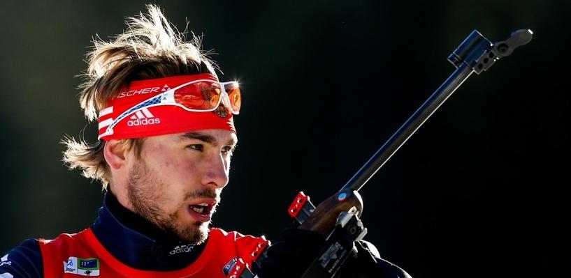 Биатлонист Антон Шипулин финишировал вторым в гонке на 10 км на этапе КМ в США