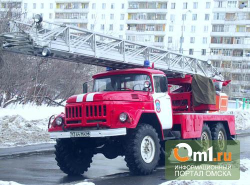Омские спасатели вывели из горящей бани 11 человек