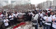 Омичи пришли на митинг в память Климова, несмотря на