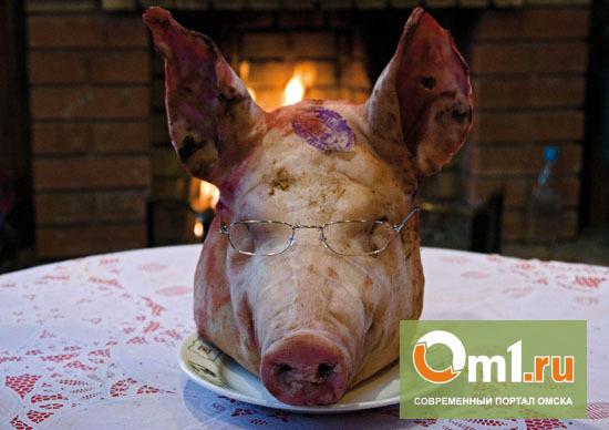 Свалку свиных голов под Омском ликвидировали