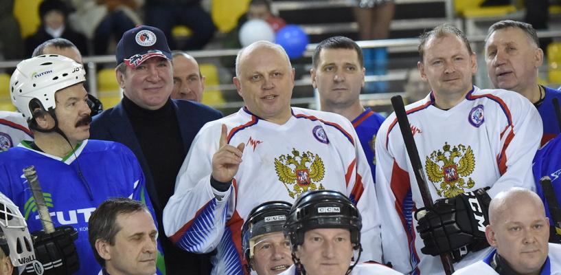 Глава «Титана» Сутягинский отправится в Сочи, чтобы сыграть в хоккей с Путиным