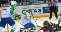 Омский «Авангард» одержал победу в пятом матче серии с «Салаватом Юлаевым»