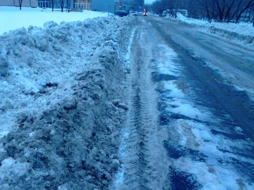 Из-за снежных завалов мэрию Омска проверила прокуратура
