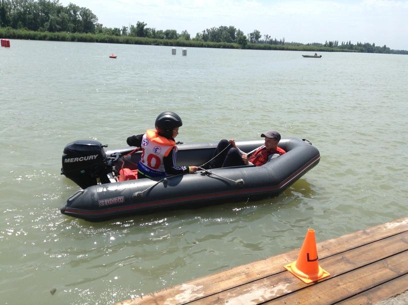 Юный омич выиграл соревнования по водно-моторному спорту в Краснодаре