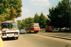 В Омске начали демонтаж трамвайной линии на Левый берег