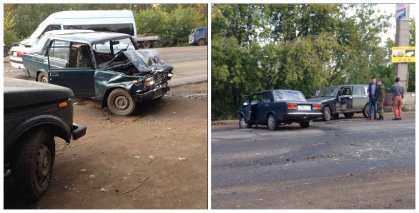 Под Омском на Сыропятском тракте произошло очередное ДТП