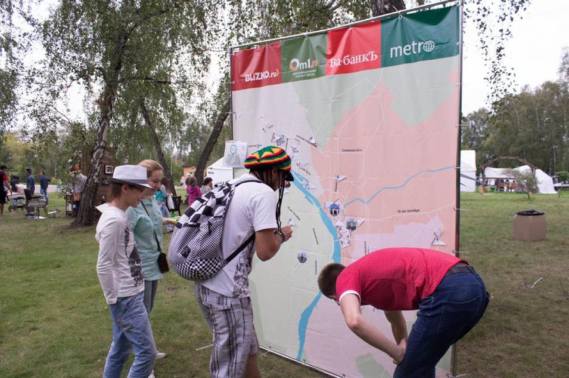 ГК «ВДВ-Медиа» собрала яркие моменты из жизни омичей на одной карте