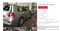 В Омске продали внедорожник, который упал с метромоста