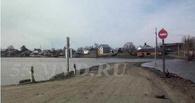 В двух районах Омской области из-за паводка ограничили движение транспорта