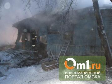 Первые жертвы мороза: на пожаре в Омске сгорели еще два человека