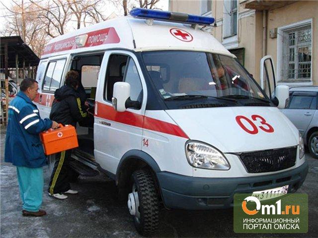 На трассе под Омском разбились Lada Priora и Renault