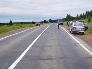 На трассе «Омск – Тюмень» в собственной машине сгорел человек