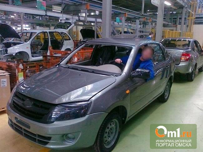 Производство Lada Kalina и Lada Granta возобновилось