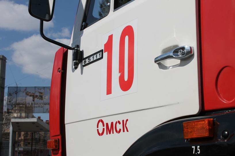 В Омске снизилось количество пожаров