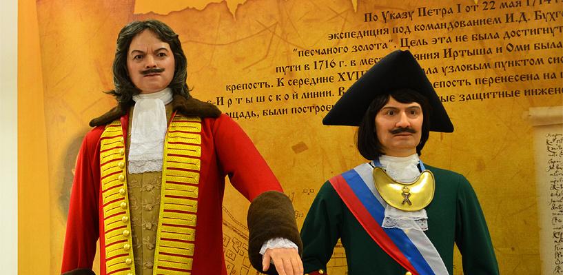 На памятнике основателям Омска останется одна фигура Бухгольца
