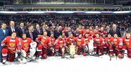 Омский «Авангард» в составе победителей Кубка Первого канала