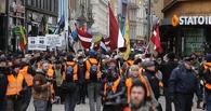 Тысяча националистов прошлись по центру Риги под знаменами СС