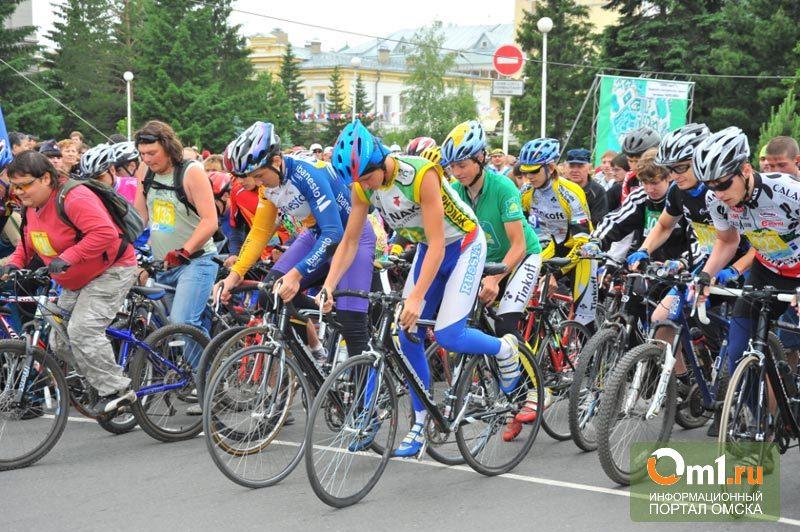 В Омске перекроют дороги Левобережья из-за велосоревнований