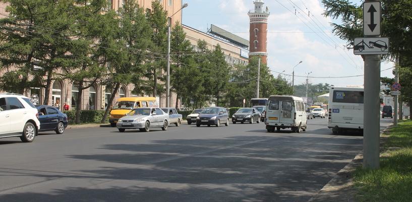 После нанесения разметки на Соборной площади изменят схему проезда