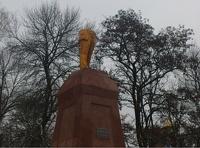 На Украине снесли памятник Ленину
