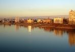 Вода в омском Иртыше стала чище: была очень грязная - стала просто грязная