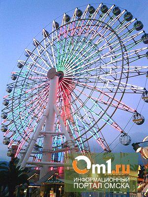В Омске построят колесо обозрения с электронным гидом