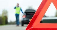 В Омске разыскивают водителя, который сбил пешехода и скрылся