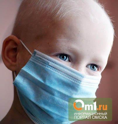 В Омске массово болеют гриппом маленькие дети