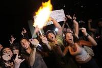 Акция протеста в Рио-де-Жанейро переросла в драку с полицейскими