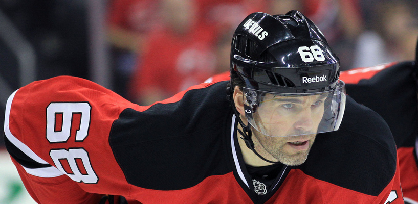 Яромир Ягр продолжает набирать очки в чемпионате НХЛ