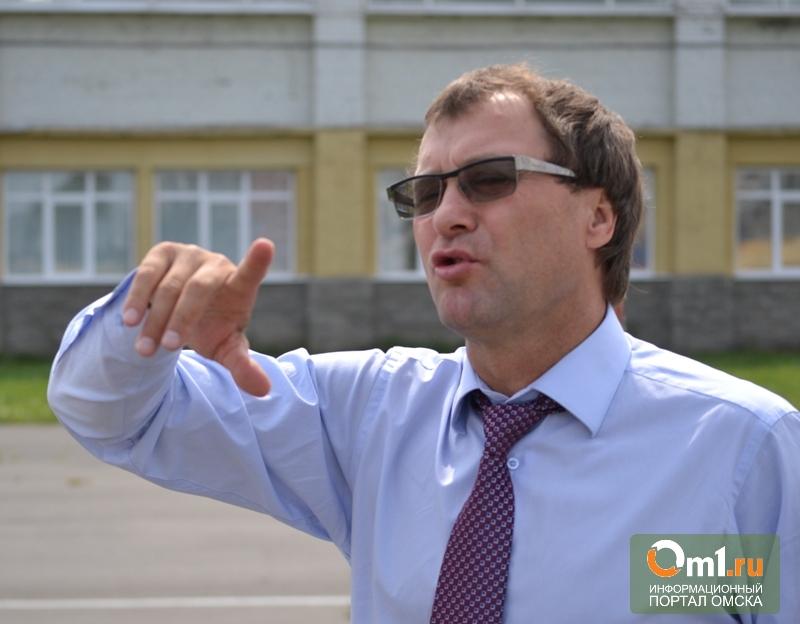 Назаров утвердил кандидатуру Фабрициуса на посту главы омского Минспорта