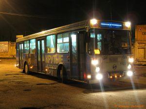 В Омске автобус ехал в гараж и сбил пенсионерку