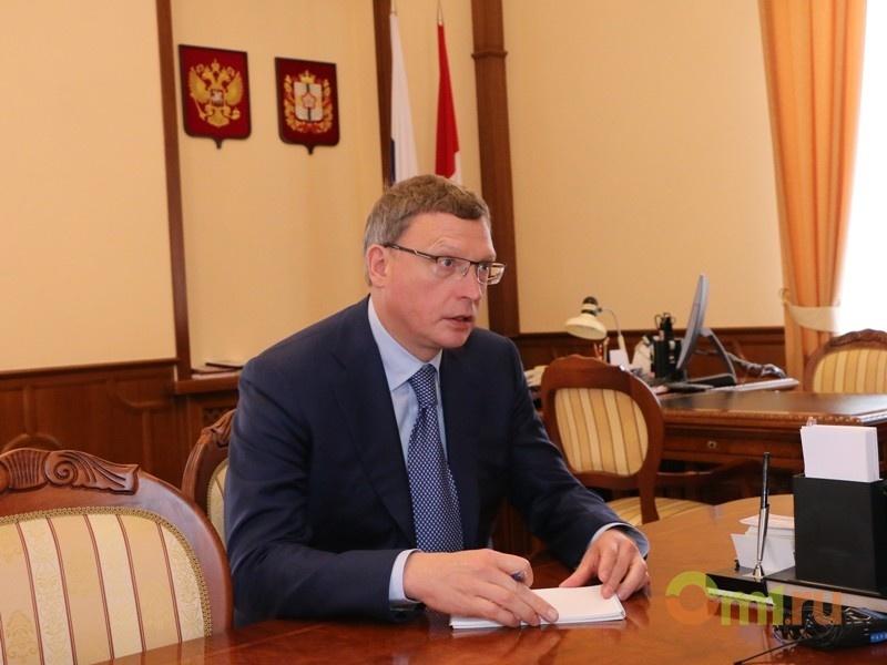 Экс-губернатор Омской области поведал  Буркову орезультатах осуществления  «майских указов»