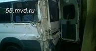 После эфира на «Маяке» омская полиция нашла заклеенную скотчем маршрутку