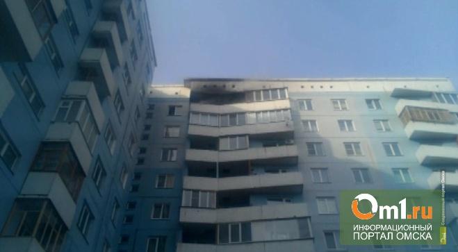В Омске мальчика из горящей десятиэтажки спасли местные жители, а не МЧС