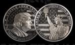 Уральские оружейники отчеканили монету с изображением Дональда Трампа
