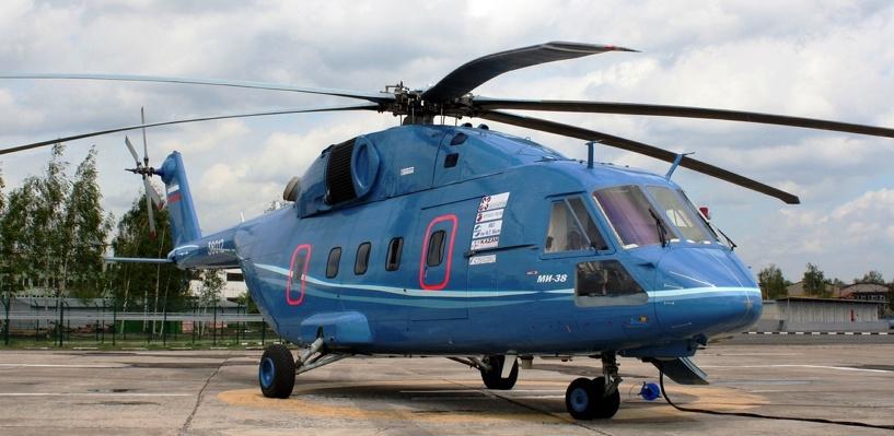 Омский завод Баранова выпустит двигатели к вертолету Ми-38 к 2019 году