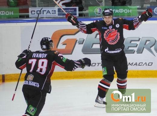 Омский «Авангард» выиграл второй матч домашней серии