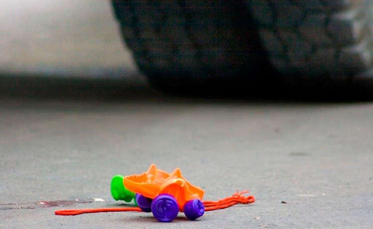 В Омской области под колеса иномарки попала 8-летняя девочка