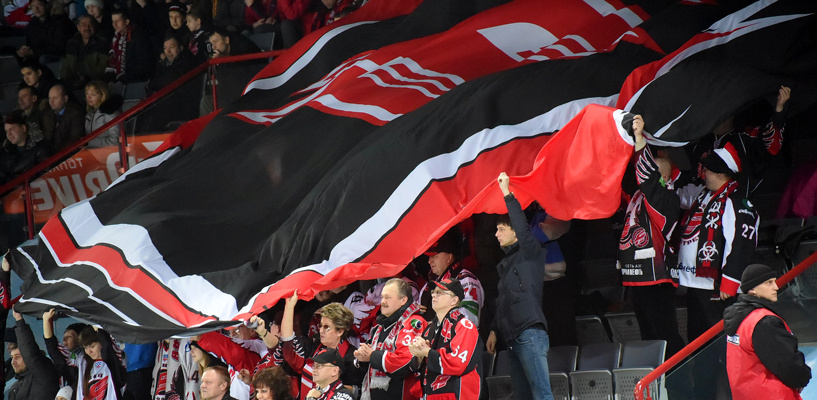 «Авангард» завершил домашнюю серию матчей без поражений
