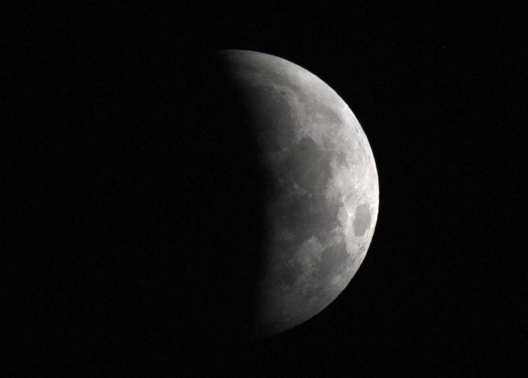 Мимо кассы: омичи пропустят лунное затмение