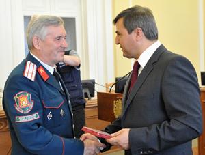 «Тринадцать друзей Гамбурга»: омские патриоты получили памятные медали