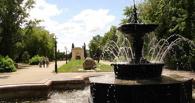 В Омске заработали первые фонтаны