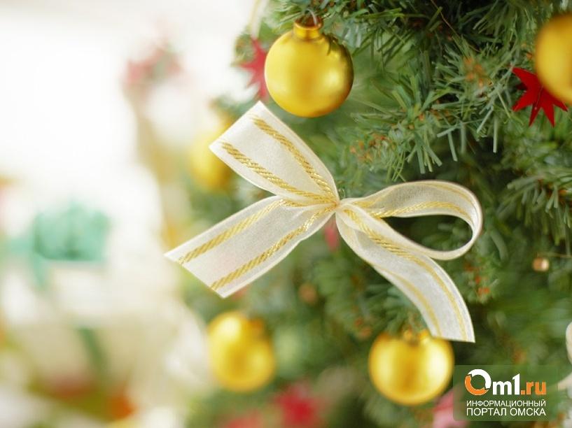 Маленьким омичам достанется меньше подарков, чем детям из области